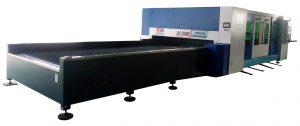 Máy cắt laser fiber bàn đôi