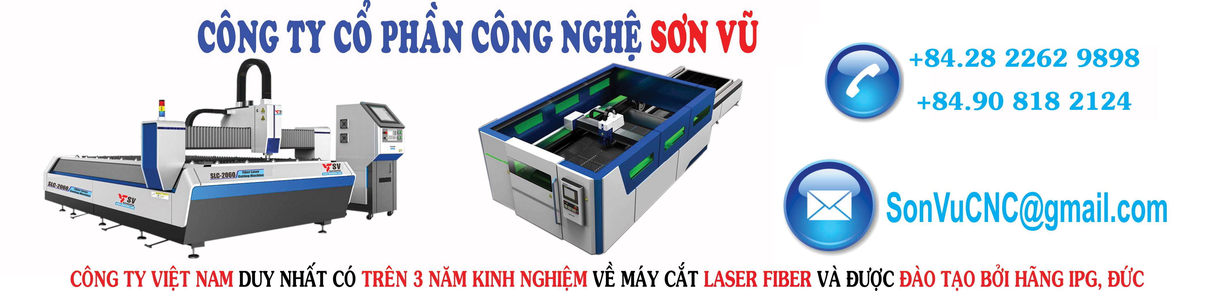 Máy cắt Laser CNC Sơn Vũ