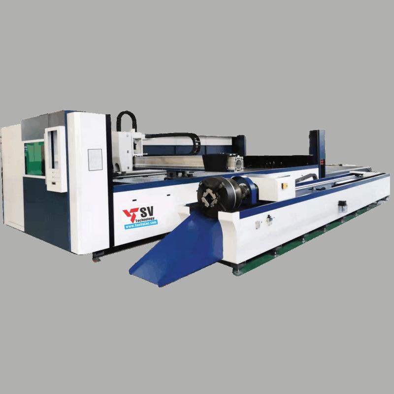 Máy cắt Laser Fiber tấm kết hợp ống